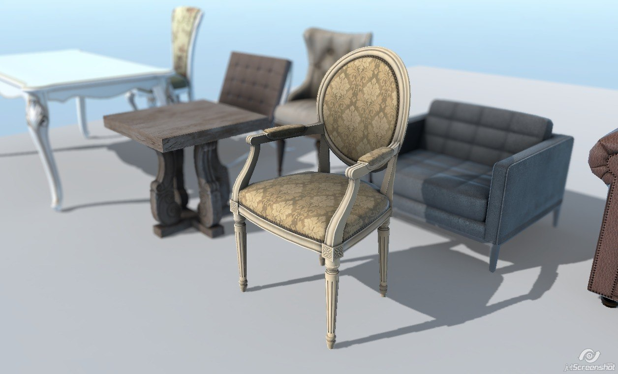 Next gen furniture pack vertex studio for Furniture next